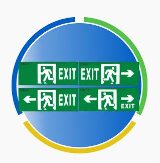 LED Exit Thoát Hiểm