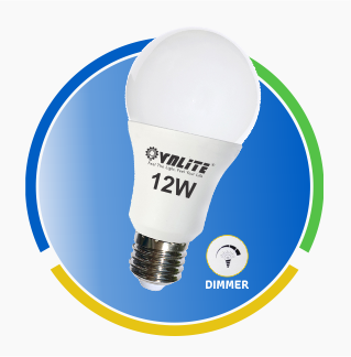 Đèn Led A Bulb dimmer 12w