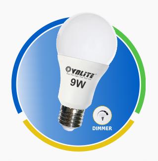 Đèn Led A Bulb dimmer 9w