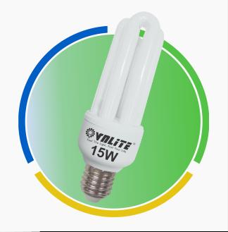 Bóng đèn compact 3U 15W E27